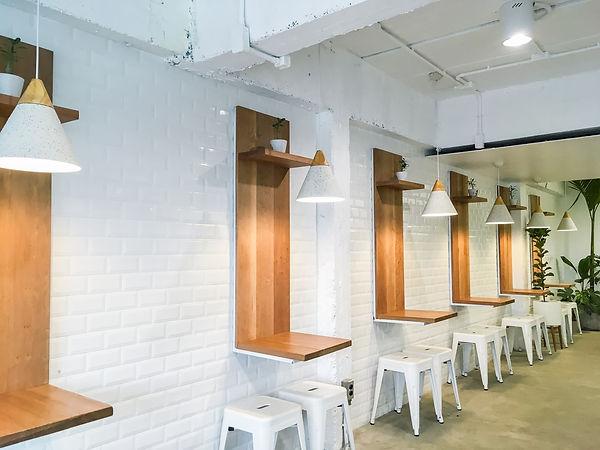 Interior design of a Happy Bones style,