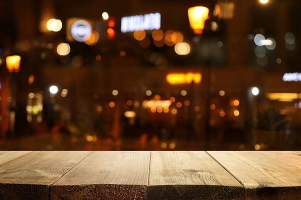 background Image of wooden table in fron