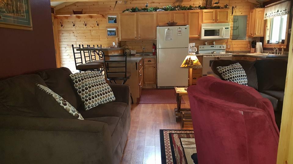 Open Living Room/Kitchen