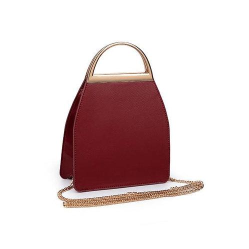 Crossbody Handbag- Wine