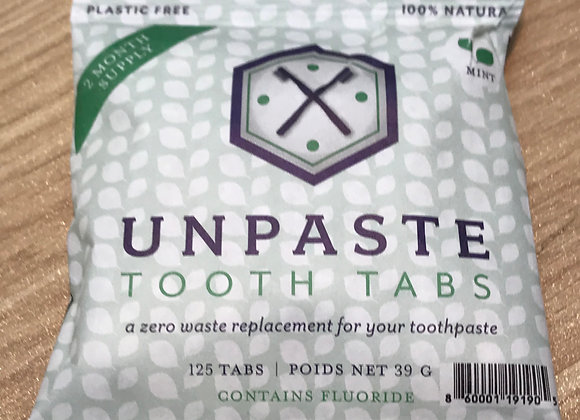 Toothpaste Tabs with Flouride