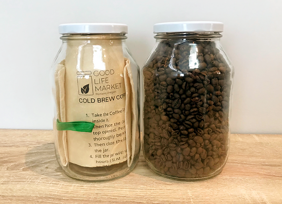Cold Brew Coffee Kit- with Nossa Familia Beans