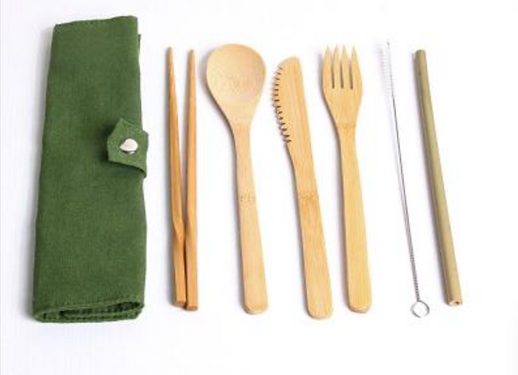 Bamboo To Go Ware Travel Set