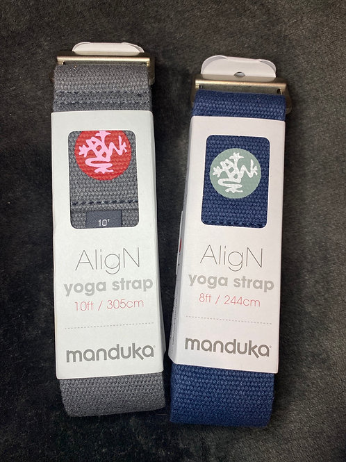 Manduka Align Yoga Strap 8' or 10'