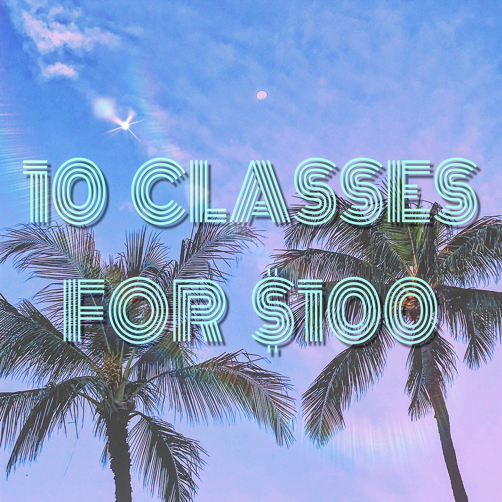 10 Classes for $100 at Island Flow Yoga Hawaii