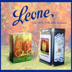 Advertising pastiglie Leone