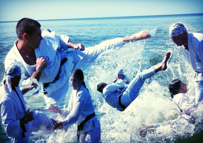 treningi w morzu