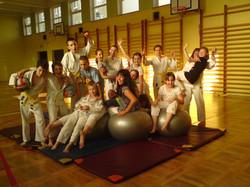 Treningi i zabawy na sali