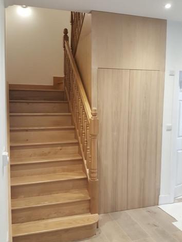 Wood Stair Handrail