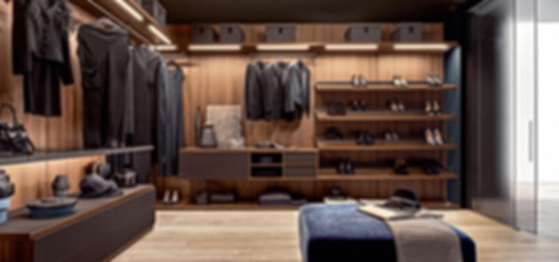 Made to measure wardrobe