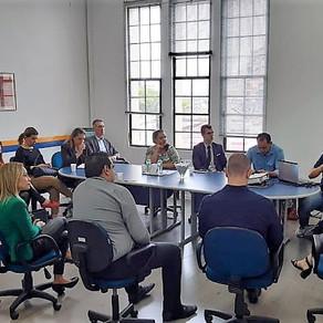 Comitê Olímpico do Brasil participa de reunião no POACVB