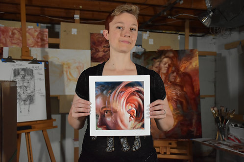 """""""Open Ears"""" Limited-Edition Giclée Print"""