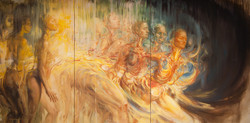 """""""Woven in Time"""" (triptych) Oil Painting"""