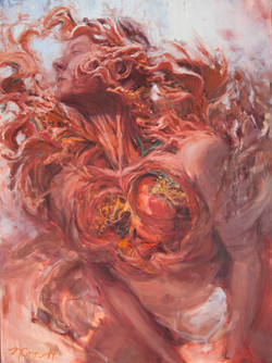 """""""Body Bloom"""" Painting"""