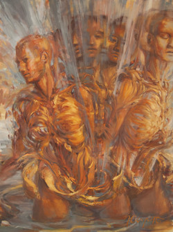 """""""Shapeshifter"""" Oil Painting"""