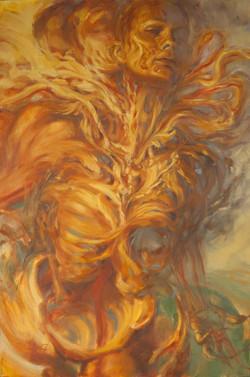 """Interwoven 02"" Painting"