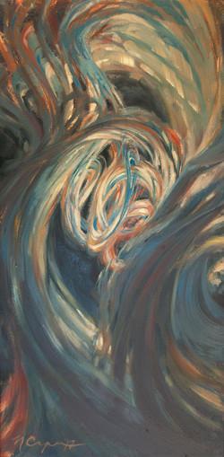 """""""Bud 08"""" Oil Painting"""