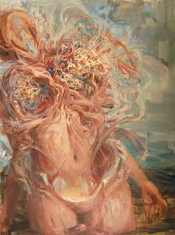 """Interwoven 01"" Oil Painting"