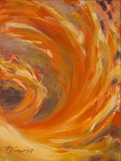 """Bud 07"" Painting"