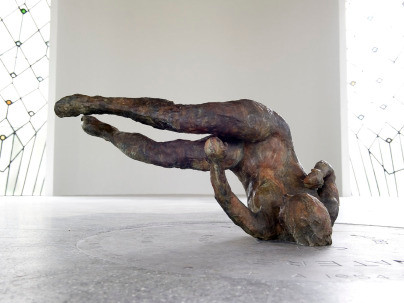 Image result for tumbling woman sculpture