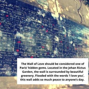 LUCY'S PARIS BUCKET LIST