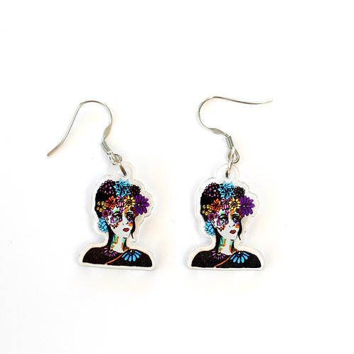 Frida Rainbow Earrings