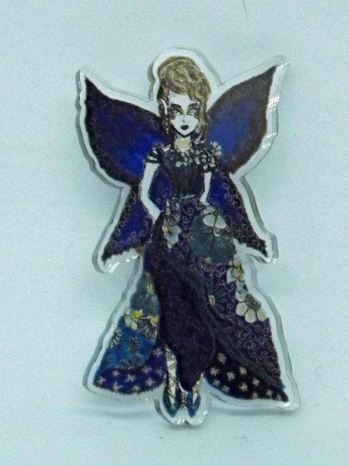 Midnight Fairy Pin