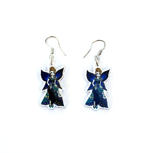 Midnight Fairy Earrings