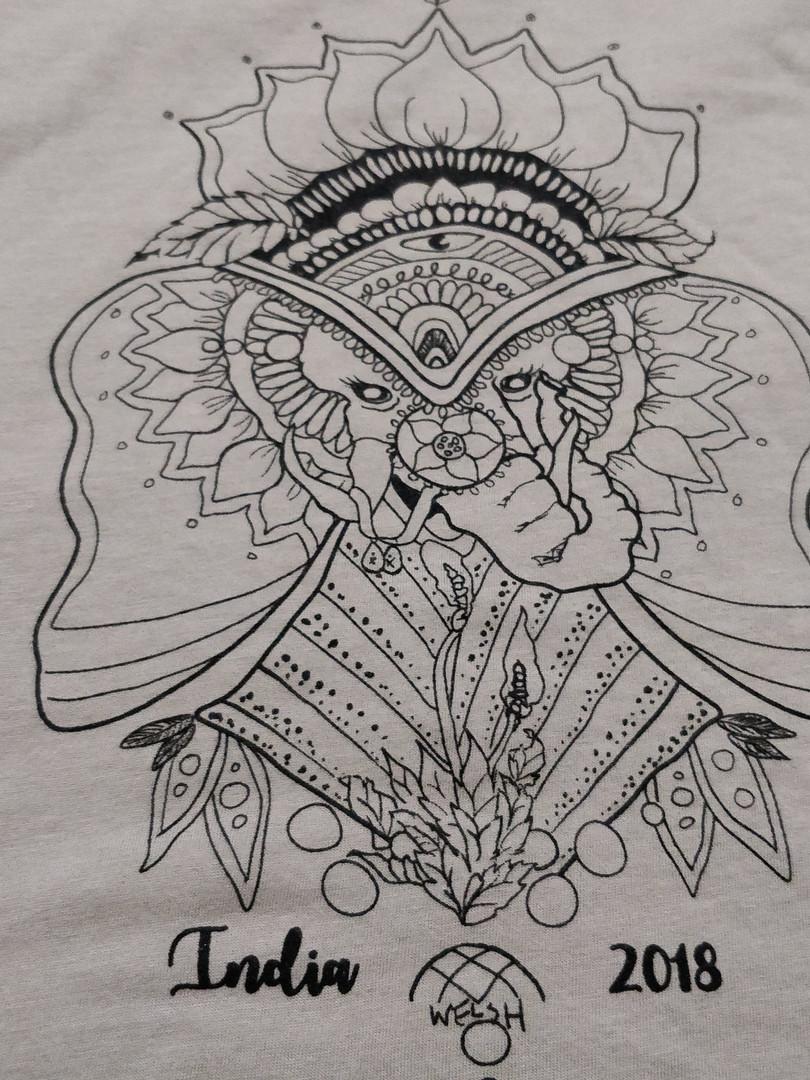 India 2018 Field School Tshirt