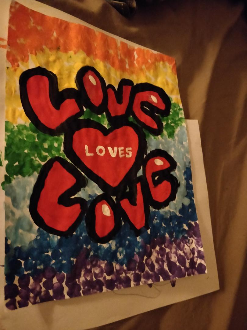 Rainbow Slogan Sample