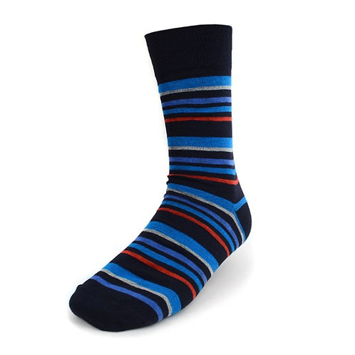 Men's Striped Casual Fancy Socks
