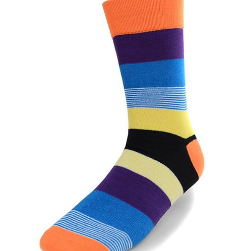 Multi Color Causal Fancy Socks