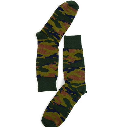 Men's Camouflage Novelty Socks
