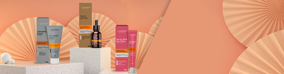 Nova linha Labotrat Dermos Skin, o poder da tecnologia nanoencapsulado ao alcance de sua beleza.