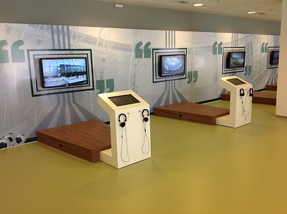 DISPLAY TOUCH SCREEN & INTERATIVE