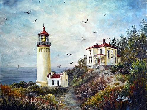 PRTGLP484-Oregon Lighthouse