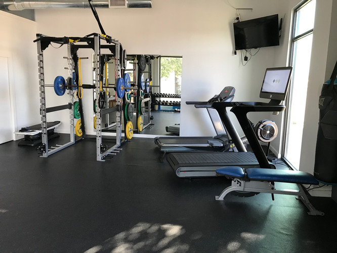 Gym Space at Human Function and Performance Physical Therapy