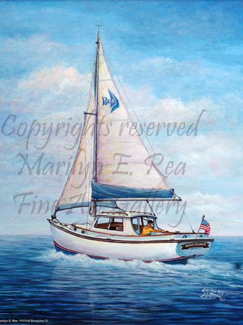 PNT436-Bluejacket Sailboat