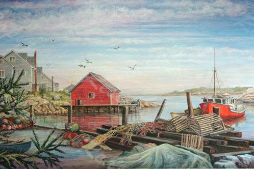 PRTGLP426-Nova Scotia - Crab Crates