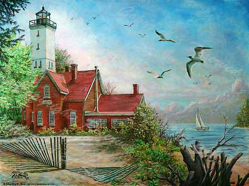 PRTGLP-417-Lighthouse at Erie