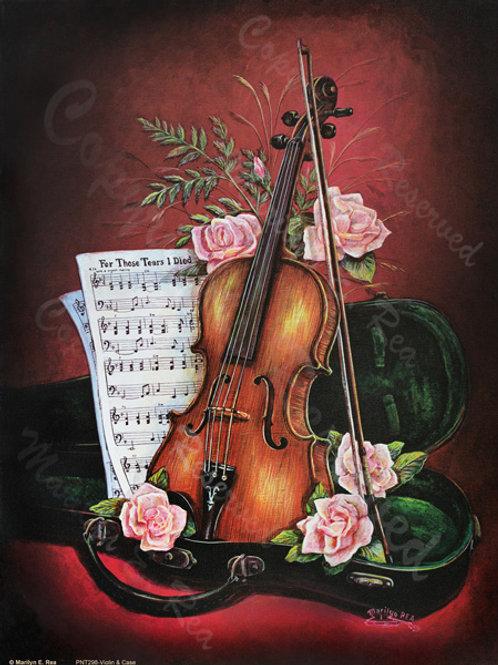 PRTGLP-298-Violin & Case