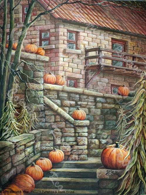 PRTGLP-378-Stairs & Pumpkins