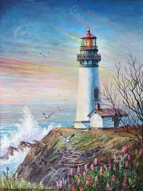 PRTGLP412-Lighthouse in Maine
