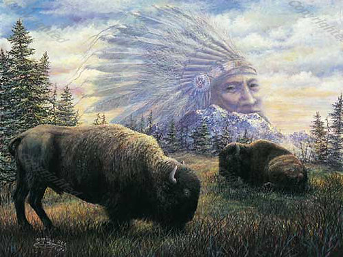 PRTGLP261-Buffalo and Chief
