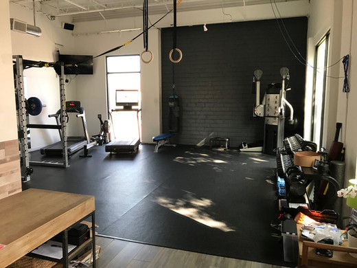 Front Desk and Gym Space at Human Function and Performance Physical Therapy