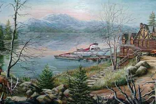 PRTGLP410-Mountain Home at lake