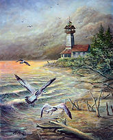 PNT497-ErieLighthouseMarina&Gulls---WEB-