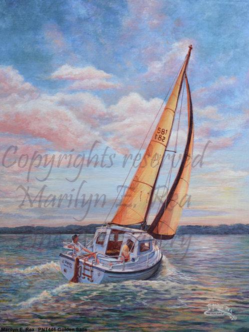PRTGLP446-Golden Sails