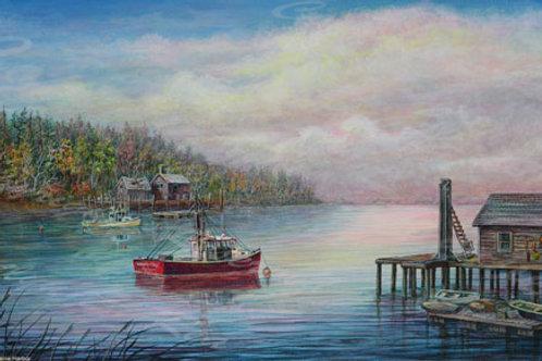 PRTGLP761-Maine Harbor