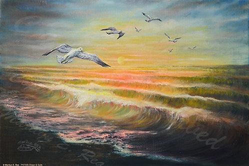 PRTGLP500-Ocean & Gulls